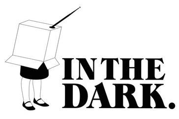In the dark - logo